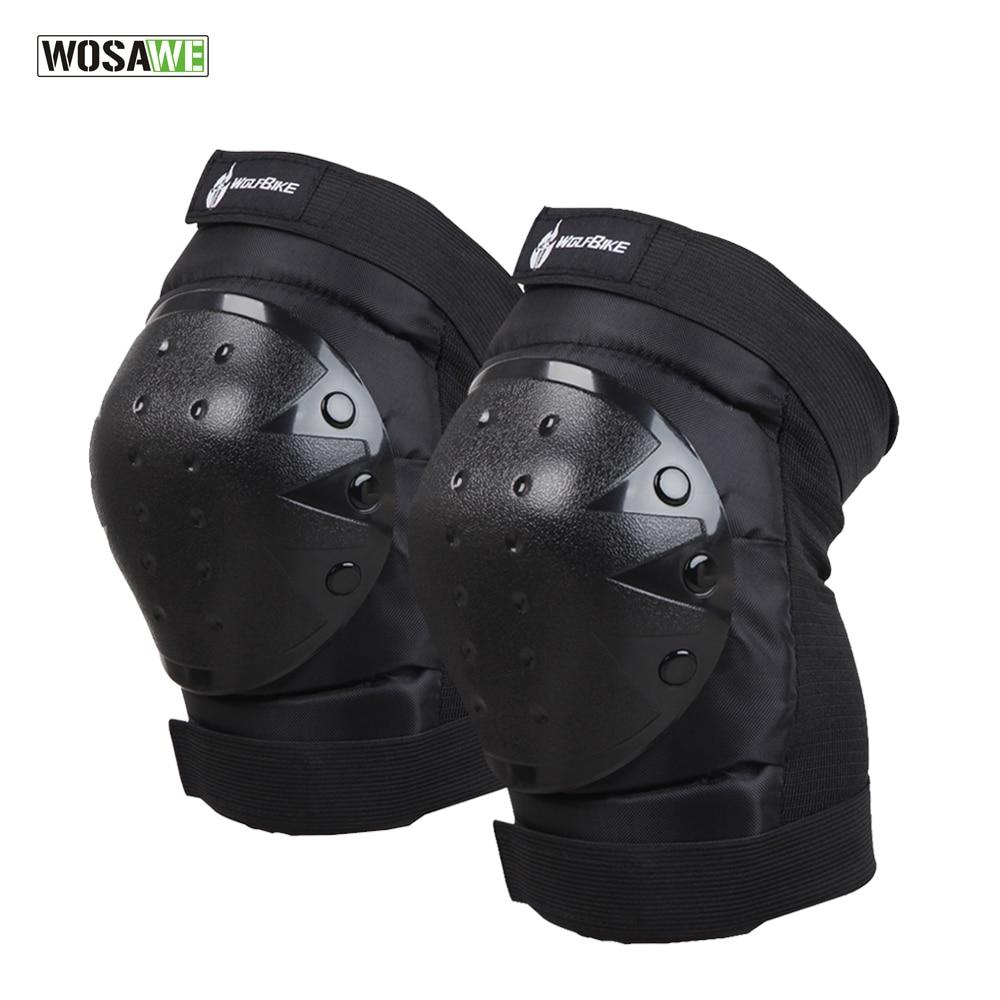 Prix pour WOSAWE Moto Genou Protecteur Vélo Vélo Bike Racing Tactique Skate Genou de Protection Tapis Garde Haute Qualité Coudières