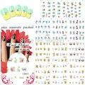 BeautyNailArt  90Sheet/lot SpongeBob Cartoon Nail Art Water Decals Transfer Sticker water stickers for nail art KADS NAILART