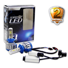 2pcs/lot Car LED Headlight Bulbs 8000lm H1  H4 9012 H13 H7 H8 H9 H11 9005 9006 9004 9007 Auto Bulb Headlamp 6000K Light