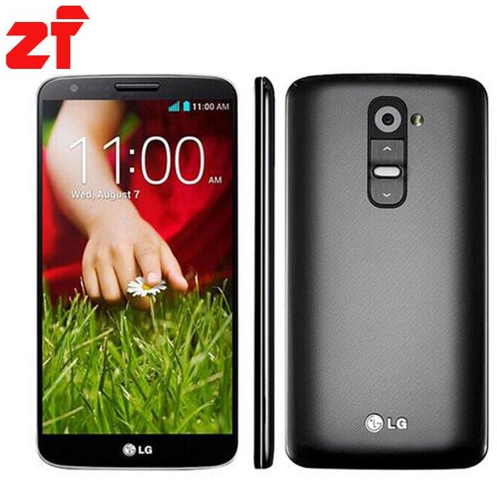 Original LG G2 D802 Unlocked GSM 3G 4G Android Quad core RAM 2GB 5 2 13MP