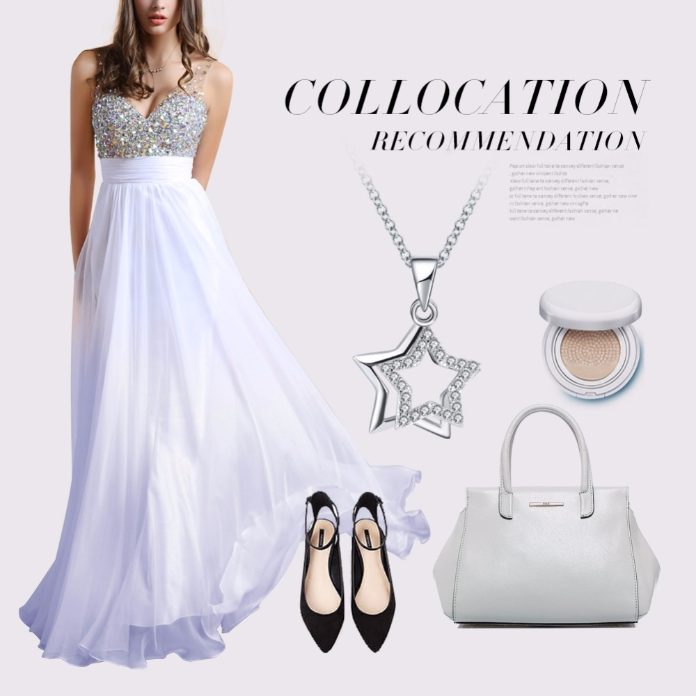 HTB15nDAm6uhSKJjSspmq6AQDpXal ORSA JEWELS 100% Real 925 Sterling Silver Pendants& Necklaces Shiny AAA Cubic Zircon Star Shape Women Fine Jewelry SN82