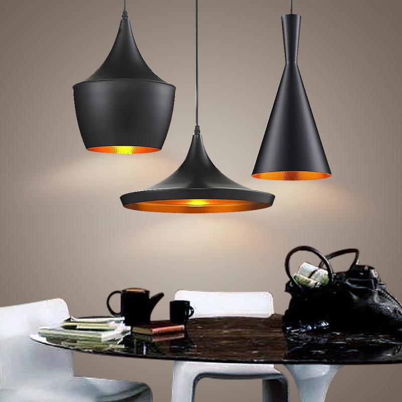 restaurant bar lamp creative minimalist modern italian style loft lights pendant lights 3pcs suit