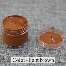 Light Brown - Leather coloring paste,leather bag,sofa, shoe,clothing,refurbished to change color