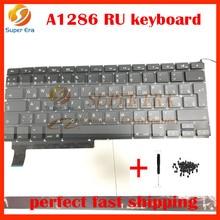 """A1286 RU clavier sans rétro-éclairage pour macbook pro 15.4 """"Russe Russie clavier clavier 2009 2010 2011 2012 année"""
