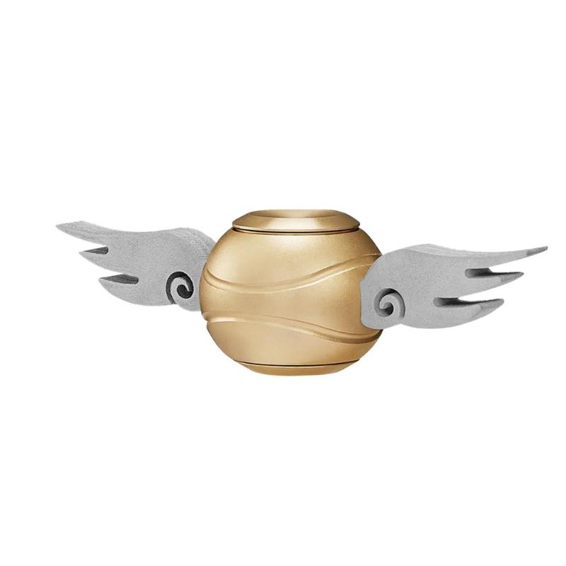 Ball Bearing Wings Gyro Toy Decompression Wear-resisting Zinc Alloy Top Stress Relief Toy Fidget Spinner