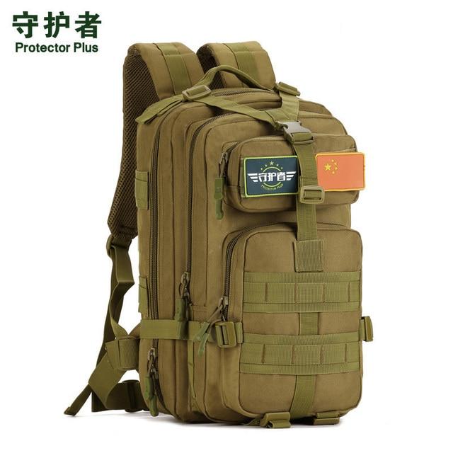 Men and women 30 liters 40 L waterproof nylon package high quality waterproof backpack bag military wearproof Travel bag