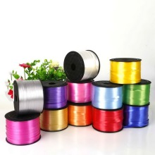 New 1 Roll 5MM X 100 Yards Foil Balloon Ribbon DIY  Wedding Gifts Packing Ribbon Rope Balloon Strings for Party Decoration