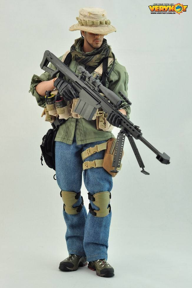 все цены на 1/6 Scale PMC SNIPER Soldier Clothes Set Military Sharpshooter Suits For 12