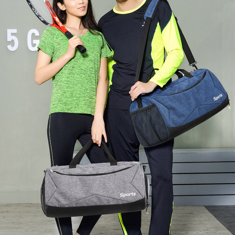 1 Pcs Women Men Travel Bag Handbag Large Capacity Waterproof For Outdoor Sport Best Sale-WT