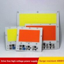 AC 220V 100W 150W 200W cob светодиодный светильник для выращивания, чип полный спектр 370nm-780nm и белый для комнатных растений, рост рассады и цветов