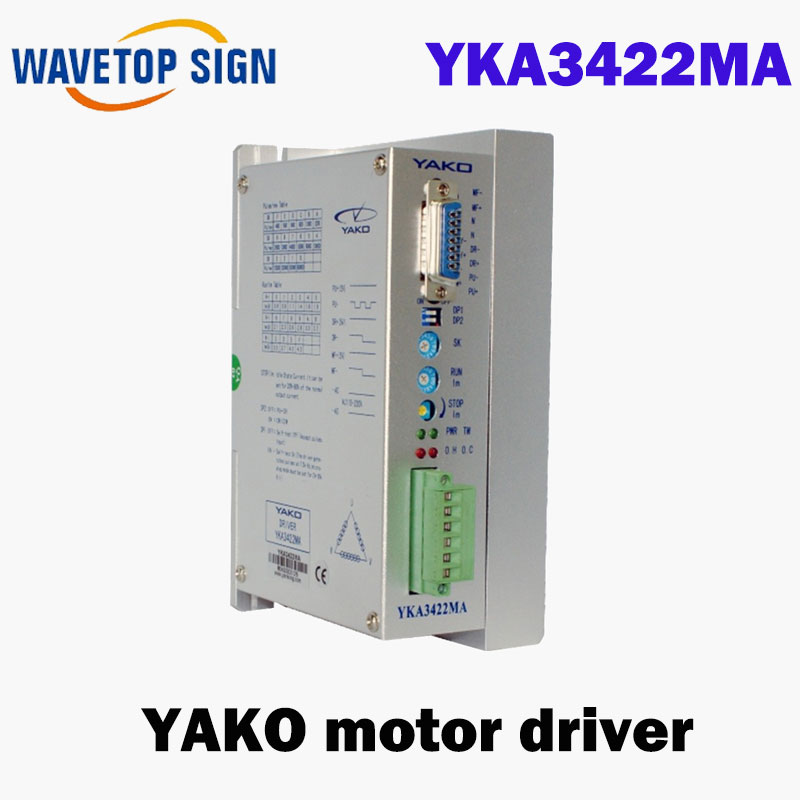 3 phase Stepper Motor driver Stepper driver for 86-110m yako YKA3422MA AC110V-220V 0.6A-4.2A yka3722ma ykb3722ma upgrade ykc3722ma yako research and control three phase driver 3d722