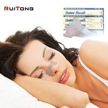 Фотография 100pcs/lot Nasal Strips Anti snoring sleeping are better than breath right 2 size avaialve