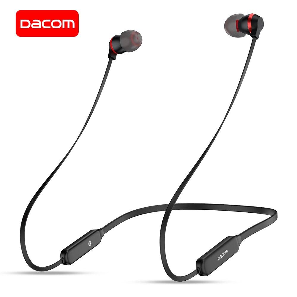 Беспроводные Bluetooth-наушники DACOM L06, спортивные наушники с микрофоном, с графеновым басом, для iPhone, Samsung, Huawei