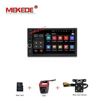 Quad Core Android7 1 HD 1024X600 Car Gps Radio Cassette For 7inch Two Din Universal With