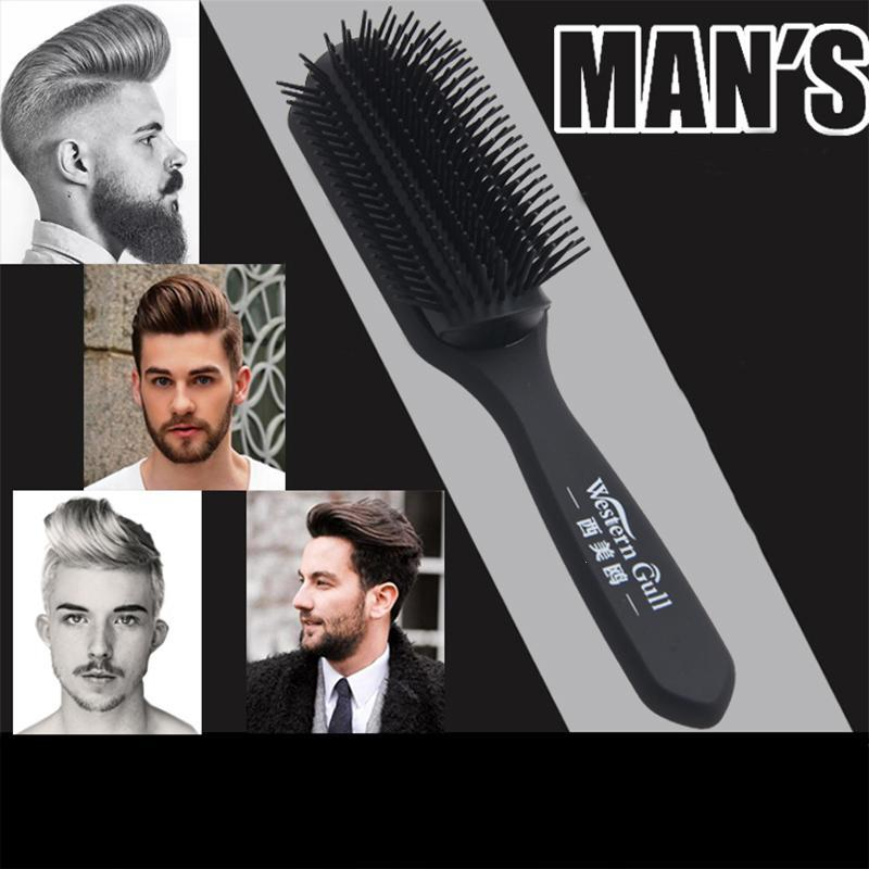 1pc <font><b>Hair</b></font> Comb Mens <font><b>Beard</b></font> Comb <font><b>Hair</b></font> <font><b>Brush</b></font> Salon <font><b>Hair</b></font> <font><b>Brush</b></font> Tangle Wet Dry <font><b>Bristles</b></font> Fashion <font><b>Brush</b></font> for Men 4 Color Y3