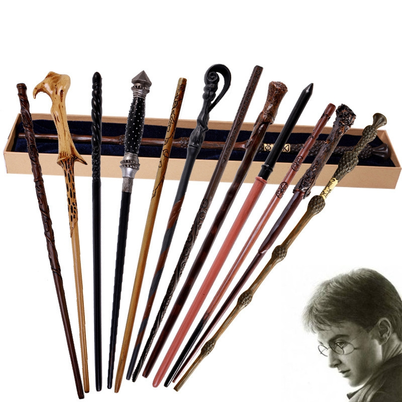 Cosplay baguettes Dobby Hermione Dumbledore bâton magique enfant jouets métal core baguette magique Staf Prop