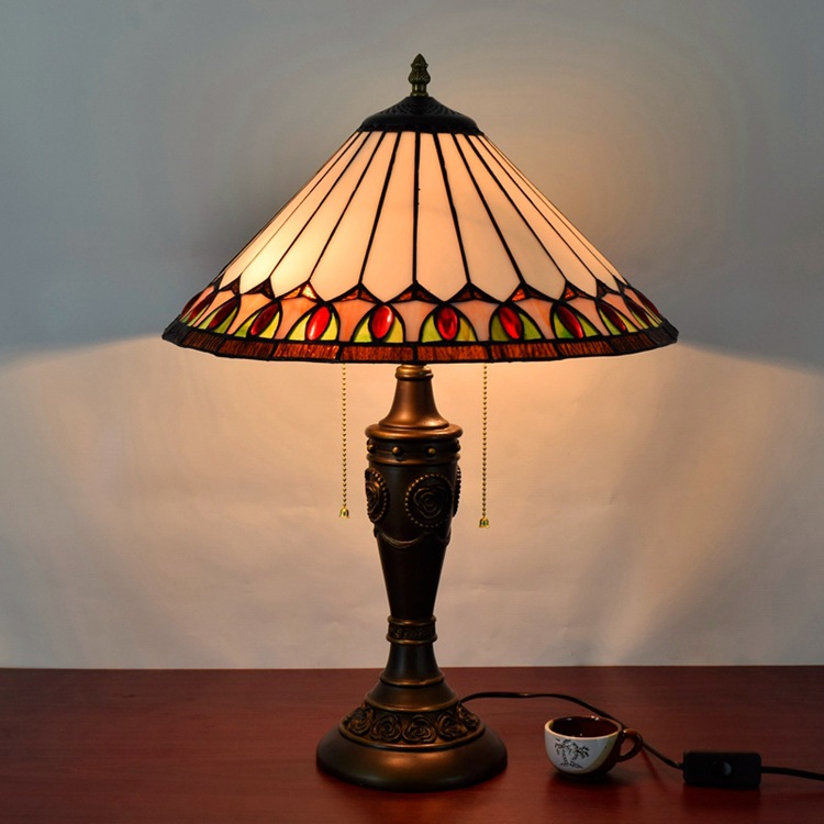 Online Get Cheap Stained Glass Lamp Bases Aliexpress Com