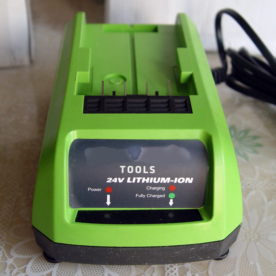 Electric tool Lithium battery charger Brand new For Greenworks Charger 24V lithium battery 2016 new rushed standard battery quality lithium battery 10 8v three string combination