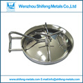 400*500mm SS304 Oval manways ;Sanitary Manhole Cover,Stainless steel manway