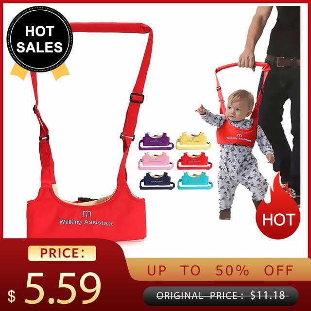Bebé niño caminar arnés de seguridad Correa ala cinturón caminar asistente bebé llevar para niños cuidado de niños 9 a 24 meses navidad