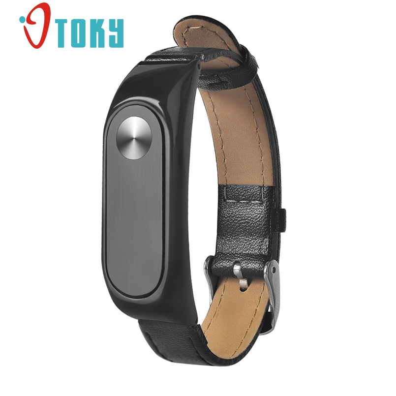 New Arrive Leather Strap For Xiaomi Mi Band 2 Wrist Straps For Mi band 2 Smart Band Replace For Mi Band dropship c904 цены