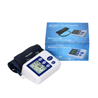 English Version Full Automatic Digital Blood Pressure Monitor Pro Upper Arm Cuff Tonometer