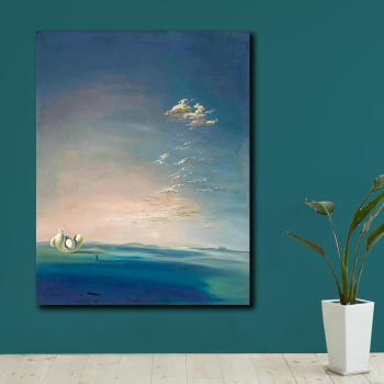 Salvador dali yang i yin empordane Canvas Painting For Living Room Home Decoration Oil Painting On Canvas Wall Painting No Frame 1