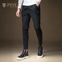 Pinli 2016 Autumn New Arrival Fashion Men S Clothing Slim Casual Skinny Pants Trousers B163317047