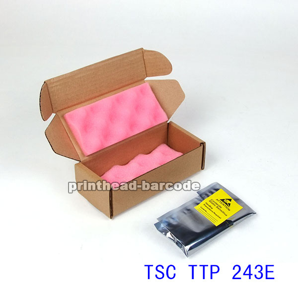 For TSC TTP 243E Thermal BarCode Printer Original New Printhead Print head,Printer Parts,Free Shipping 100% new thermal original printer head printhead for argox cp2140 cp 2140 barcode printer parts