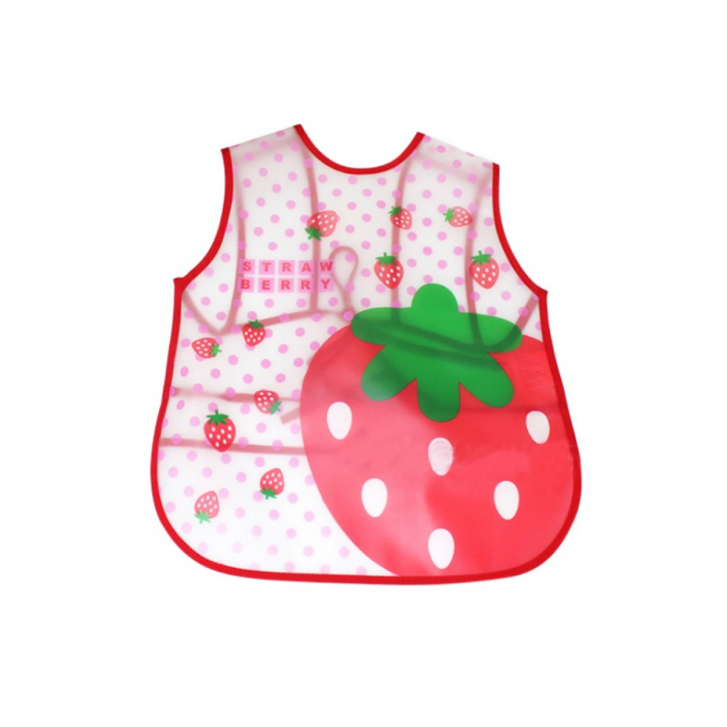 EVA Waterproof Cartoon Pattern Baby Bibs Feeding Newborn Cartoon Aprons Bibs RZ ...