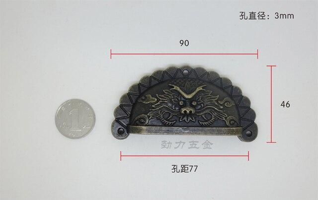 Hardware Home Hardware Antique handle semicircle semicircular handle faucet handle shells handle large 1051C