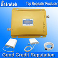 Display LCD GSM900 GSM2100 GSM Repetidor 3G 2100 Mhz Dual Band Mobile Phone Signal Booster 900 2100 Sinal de Celular repetidor S33