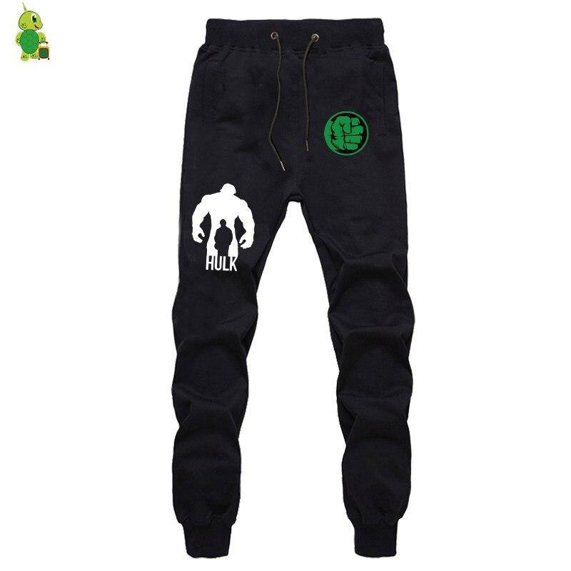 The Avenger Hulk Pants Sweatpants Men Joggers Print Sportswear Pant Streetwear Casual Pants Long Trousers Fitness Sweatpants