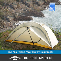 The Free Spirits TFS WINSA PRO lightweight(blue label) Tent One sided Silicon Coating 2 person 4 Season Waterproof Camping