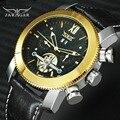 JARAGA Топ Бренд роскошные часы мужские Tourbillon автоматические механические из натуральной кожи ремень многофункциональный календарь наручные...