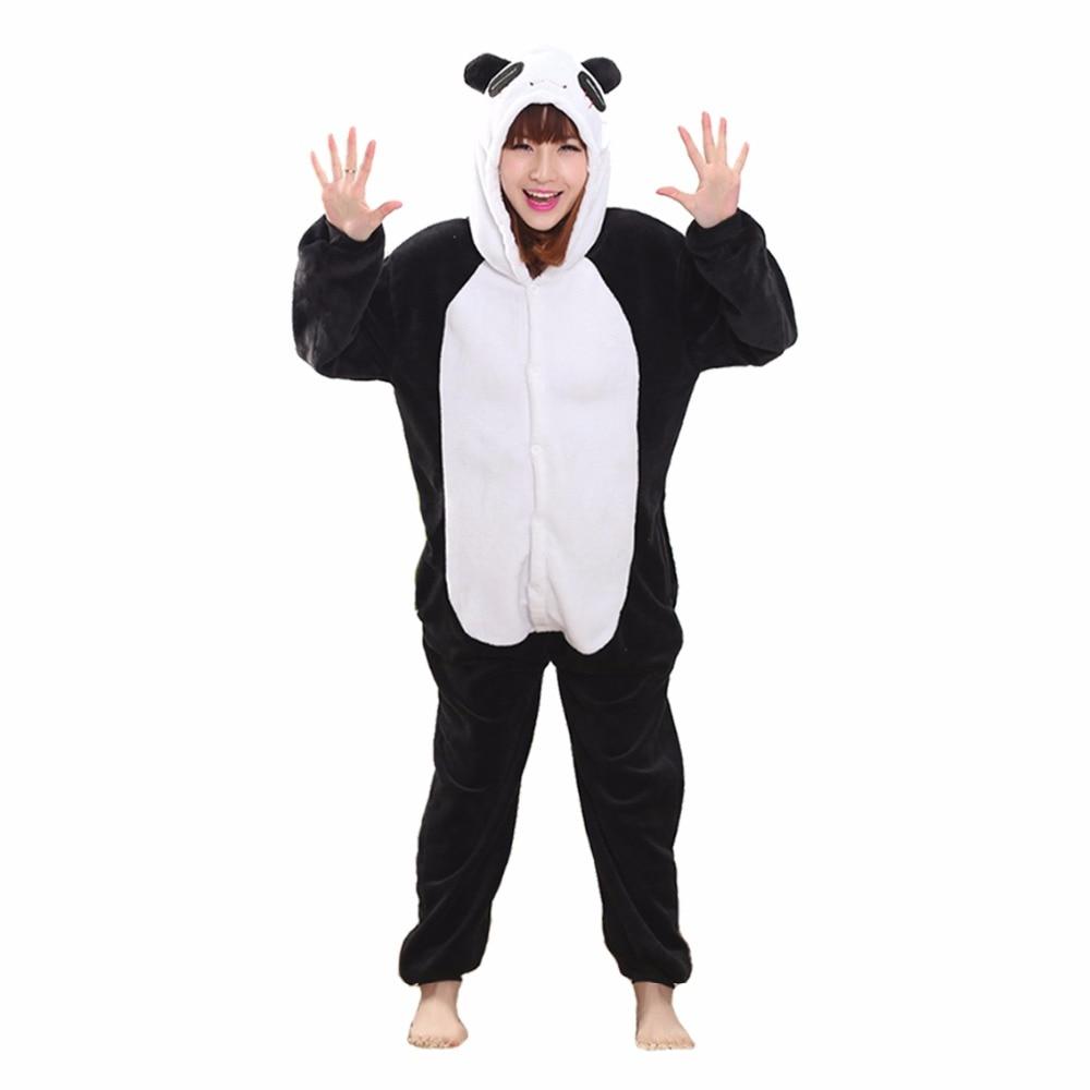 db9664b913a7 Товар 2018 Wholesale Unicorn Pajamas Women Animal Pajama Sets Stitch Adult  Cartoon Sleepwear Unisex Winter Warm Flannel Hooded -