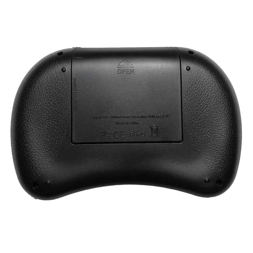 Mini i8 Russo Inglese Tastiera Senza Fili Touchpad Normale i8 tastiera Per Android TV BOX Air Mouse PS3 PC Ebraico Arabo