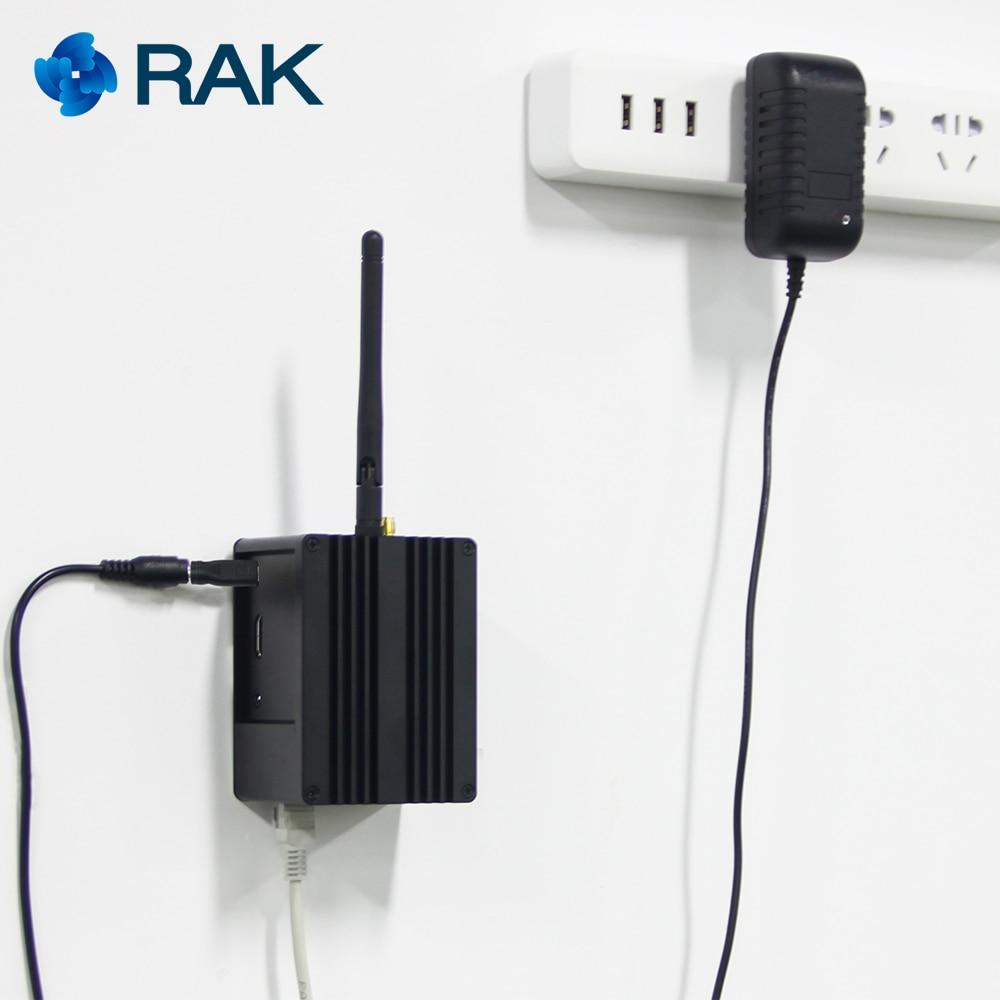 RAK831 Pilote Passerelle SX1301 + Framboise Pi3 + GPS avec une enceinte complète pour professionnel démonstration mis en place - 4