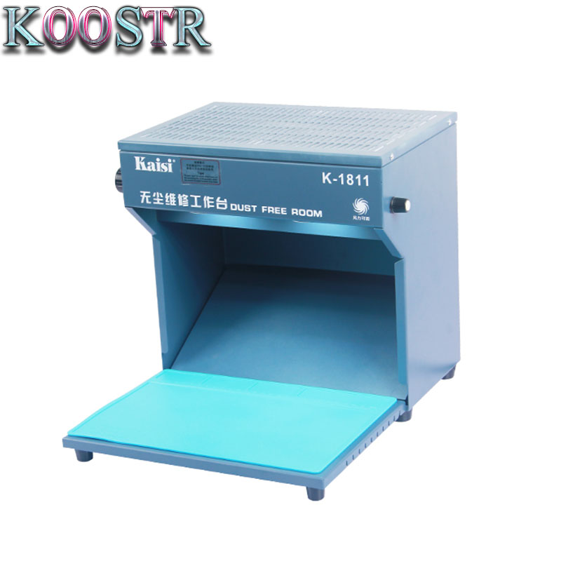 Kaisi K 1811 Mini Dust Free Room Work Table Phone LCD Repair Machine Cleaning Room with