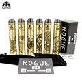 2017 clon de Rogue atomizador vape Mod Kit 24mm de Diámetro con RTA tanque cigarrillo electrónico mecánica mod 510 hilo