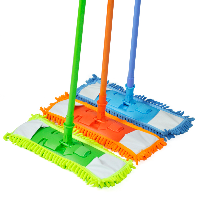 Floor Mop Cleaner Sweeper Wooden Laminate Tile Wet Dry-in Mops from ...