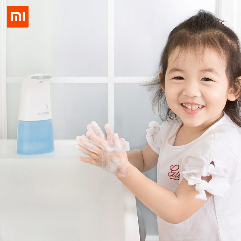 Original xiaoji Xiaomi Mini Auto Induction Foaming Smart Hand Mi Washer 0.25s Infrared Induction Wash Touch-less Soap  2Original xiaoji Xiaomi Mini Auto Induction Foaming Smart Hand Mi Washer 0.25s Infrared Induction Wash Touch-less Soap  2