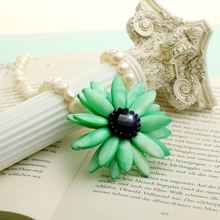Special European and American fashion necklace clavicle female flower shell fall in love amorous feelings