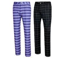 Golf Apparel Golf Pants Men'S Autumn High Elastic Trousers Plaid Quick Dry Thin Men Trousers Plus Size XXS XXXL 4 Colors D0488