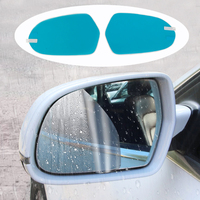 2pcs/set anti fog car rearview mirror clear film waterproof rearview mirror protective sticker for Audi A3 A4 B9 A6 C7 Q3 Q7