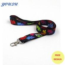 Специальный красочный теплопередающий ремень/теплопередающий ремень недорогой индивидуальный шнурок с печатным логотипом низкая цена принимается депонирование