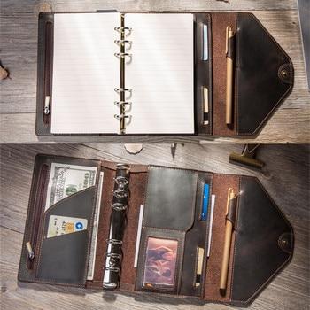 Cadernos e revistas do viajante Diário Handmade Organizer A5 A6 Blocos de notas Planejadores de boulet Planejador de diário de bala criativo PRINT 1