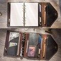 Reisenden der Notebooks und zeitschriften Tagebuch Handgemachte Organizer A5 A6 Notizblöcke boulet Planer Kreative kugel journal planer DRUCKEN
