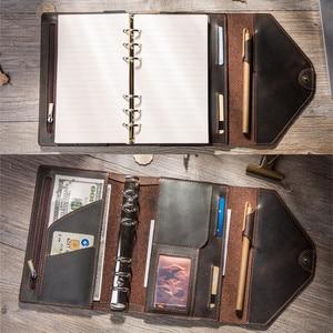 Image 2 - Reiziger S Notebooks En Tijdschriften Handgemaakte Organizer A5 A6 Blocnotes Planners Creatieve Planner Dagelijks Freeprint Schetsboek