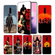 Red Dead Redemption 2 Soft Black Silicone Case Cover for OnePlus 6 6T 7 Pro 5G Ultra-thin TPU Phone Back Protective